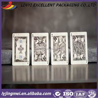 290gsm poker paper made 57mm*87mm paper playing card
