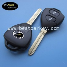 Best price car remote key 315Mhz, 4D67 chip for toyota smart key 2 button key toyota corolla