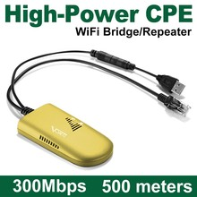VONETS High Power CPE 500m Wifi Repeater Long Range for IP camera