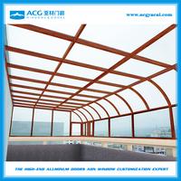 Energy-saving temperede Insulated Glass Sunroom,glass house /sun room