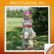 Boutique style persnickety super fashion wholesale toddler sets SFUB-078