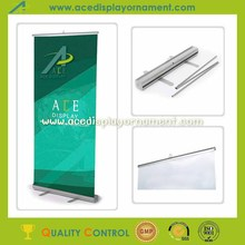 roll up portable advertising product retractable banner stand