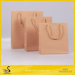 Brown craft Paper Bags for Shopping Garments Package