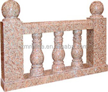 Indoor and outdoor classy granite balustrade for bridge,Porch,stairs