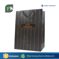 Hand Made Luxury Paper Carry Bag With Rope Handle