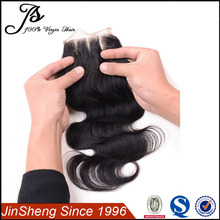 best selling products cheap lace front closure, three part lace closure, round lace closure
