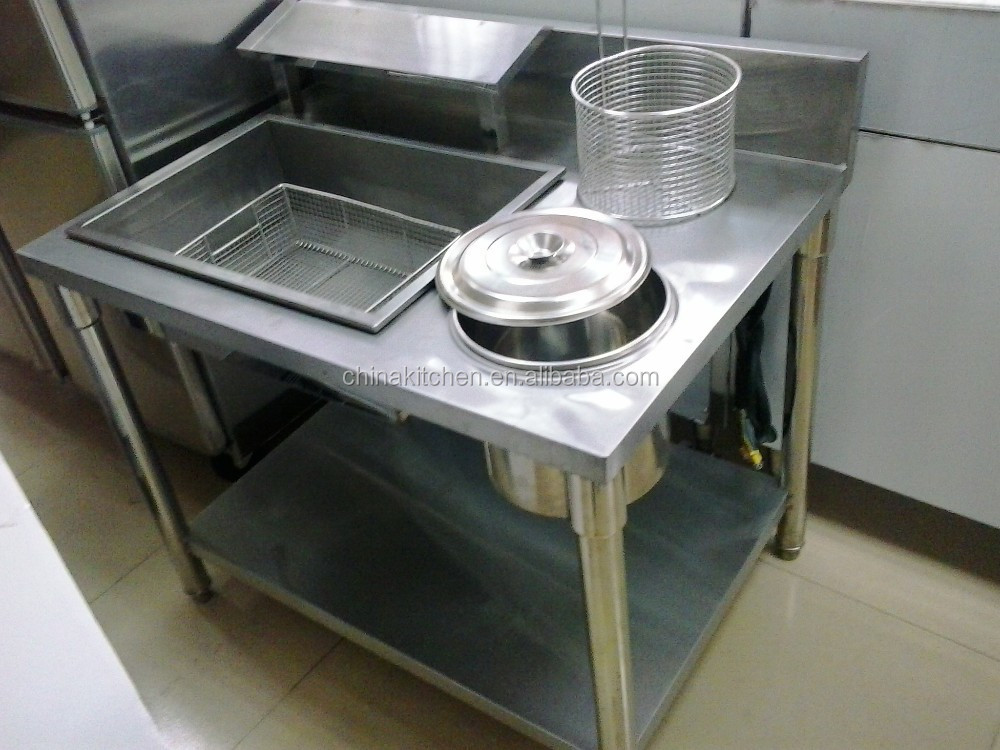 Kfc Kitchen Equipment Manual Breading Table - Buy Breading Table ...