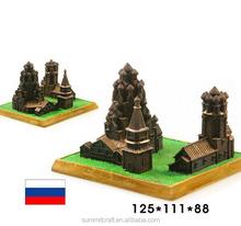 Rusia de transfiguración de la iglesia antiguos en miniatura modelo de construcción