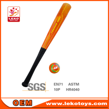 "2015 popular design pu baseball bat toys size 22"" with 2.5"" baseball"