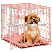 Collapsible Galvanized Pet Dog Cage Crate