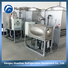 40T 1.2m/h Water discharge cooling tower or evaporative condenser or air cooling