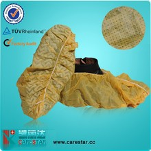 Medical disposable shoes cover, pp rain waterproof indoor overshoes