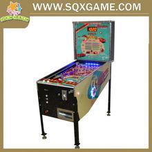 Chinese,English and Spainish language hot sale operated pinball machine(5 balls)
