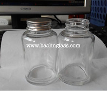 glass dropper bottle wholesale supplier Amber Brown Glass 1000 ML Round Bottle from China manufacturer
