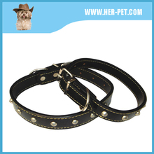 Small Size Cute Cat PU Necklace with Alloy Bell for Puppy