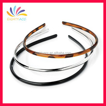 Hot sale fashion thin plastic headband