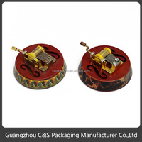 Promotion Popular Round Good Quality Wooden Music Box