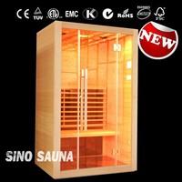 New Arriving Solar Slim Infrared Sauna Cabin (CE/ROHS/ETL/TUV)