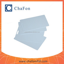 uhf id pvc card support ISO18000-6C/EPC GEN 2 with printing service