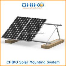 Soalr flat panel mounts