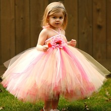 2015 Latest Children Frocks Designs Pretty Kids Party Dress Baby Girl Dress Patterns