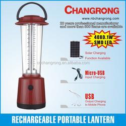 Portable solar lantern rechargeable CR-3340TP