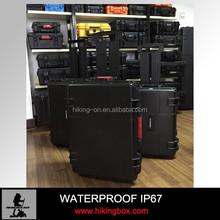 Plastic Camera Case Waterproof IP67 with Wheels