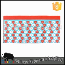 The royal standard print sublimation beach towel with pillow