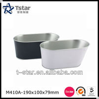 Oval Metal Bucket for Beer or Ice