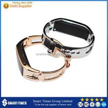 [Smart Times]2015 Fashionable Metal Bracelet wifi/Bluetooth/GPS smart watch