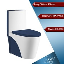 Hs-8808 colorido tamaño de cerámica para 700 x 385 x 790 mm doble inodoro