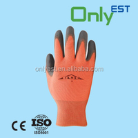 Chemical resistant general use nylon PU palm coat work gloves