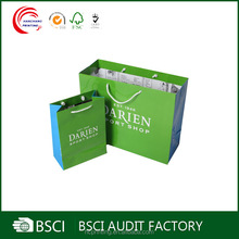 Wholesale shopping paper bags with your own logo