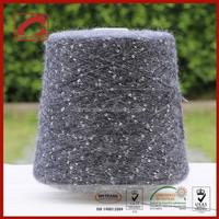 Consinee various fancy yarn pretty style stock dyed fancy yarn for knitting scarf