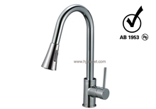 Single Hole Pull out Mixer Kitchen Faucet with AB1953
