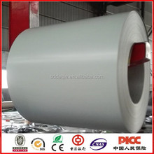 RAL 9003 off white color coated steel coil printed galvanized sheet for roofing material cheap price factory