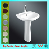 sanitary ware stand alone sink