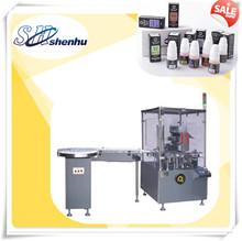 SH-125 auto e cigarette bottle cartoning machine