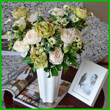 Top level new arrival artificial christmas rose decoration