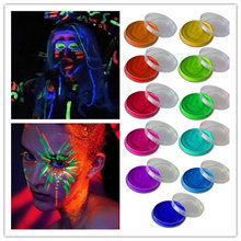 UV Reactive Neon Body Face Paint