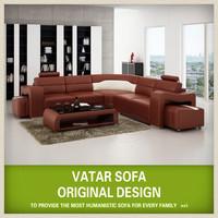 Modern living room floor divan sofa V1016B
