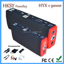 powerful mini auto jump starter lipo car battery 16800mah for Ford buick volvo etc