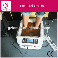 Single health ion detox foot spa device with CE certificate