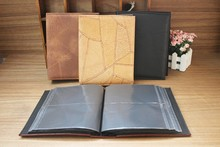 latest wedding photo album design / faux leather 8x10 photo albums / best selling photo book PU album cover
