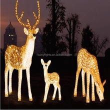 3D holiday decoration highlight outdoor waterproof LED christmas motif light