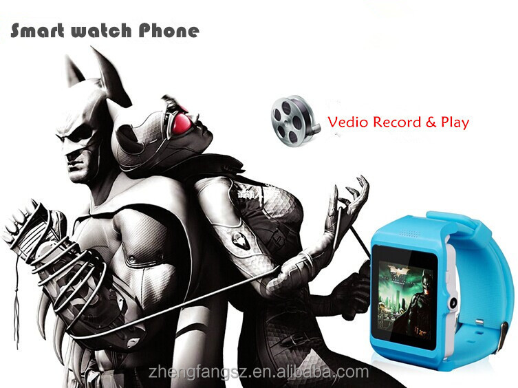 2014 bluetooth smart watch for andriod and iphone (answer hangup call function bluetooth watch)