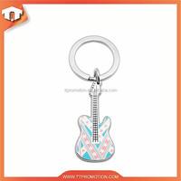 Custom printing guitar car key chain