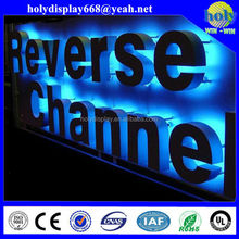 LED vacuum forming acrylic letter sign, outdoor led sign, shop illuminted sign