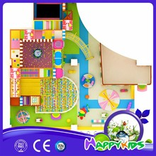 Children liked indoor climbing toys, free kids indoor playground design