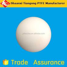 Ptfe hollow ball, plastic solid PTFE balls, white hollow ptfe ball